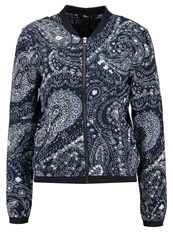Only Onlnova Bomber Jacket Night Sky Indigo Dark Blue