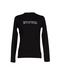 Playboy T Shirts Black