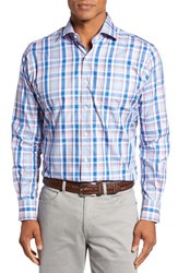 Peter Millar Men's Holiday Regular Fit Plaid Sport Shirt