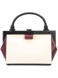 Perrin Paris Mini Structured Tote Women Leather One Size White