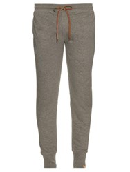 Paul Smith Slim Leg Cotton Jersey Track Pants Grey