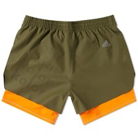 Adidas X Kolor Coated Short Green