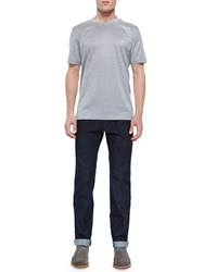 Salvatore Ferragamo Dark Wash 5 Pocket Jeans Men's