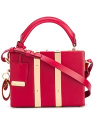 Sophie Hulme Mini Structured Tote Women Calf Leather One Size