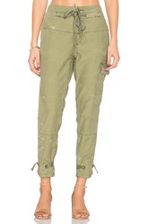Free People Don't Get Lost Soft Utility Pant Green