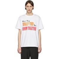 Sacai White The Big Lebowski T Shirt