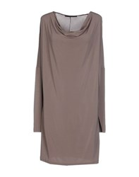 Les Copains Dresses Short Dresses Women Dove Grey