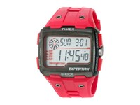 Timex Expedition Grid Shock Resin Strap Red Watches