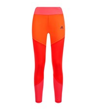 Adidas Wow Drop 1 Ultimate Long Tights Female Orange