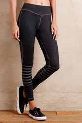 Pure Good Outfield Leggings Black Motif
