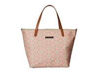 Petunia Pickle Bottom Glazed Downtown Tote Blooming Brixham Tote Handbags Beige