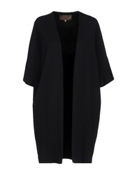 Space Style Concept Overcoats Black