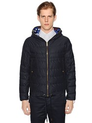 Moncler Gamme Bleu Packable Reversible Quilted Down Jacket