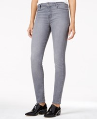 Sanctuary Robbie High Rise Silver Wash Skinny Jeans Platinum Wash