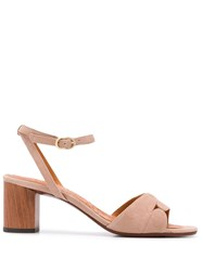 Chie Mihara 65Mm Open Toe Sandals Neutrals