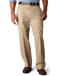 Dockers Big And Tall D3 Classic Fit Easy Refined Flat Front Pants New British Khaki