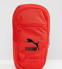 Puma Exclusive Cross Body Bag In Red