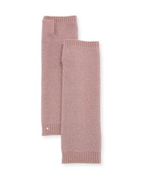 Sofia Cashmere Sequin Fingerless Gloves Rose