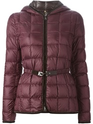 Fay Feather Down Jacket Red