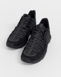 Timberland Ripcord Hiker Sneakers In Blackout Black