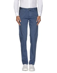 Pt05 Trousers Casual Trousers Men Slate Blue