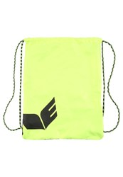 Erima Sports Bag Neon Yellow Black