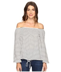 Brigitte Bailey Carlisia Off The Shoulder Top White Women's Clothing