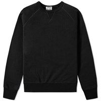 Acne Studios College Crew Sweat Black