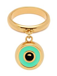 Maria Francesca Pepe 'Beverly Hills Dolls' Ring With Eye Charm Gold