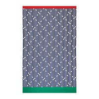 Hugo Boss Wavy Flag Beach Towel Navy