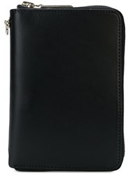 Yohji Yamamoto All Around Zip Wallet Black