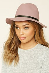 Forever 21 Banded Wool Fedora