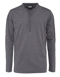 Jeep Long Sleeve Henley Top Grey