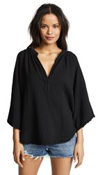 9Seed Marrakesh Cover Up Top Black