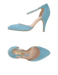 Nora Pumps Sky Blue