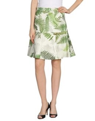 Clements Ribeiro Knee Length Skirts Green