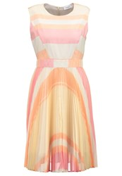 Maxandco. Pericle Cocktail Dress Party Dress Light Pink Orange