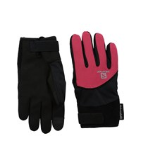 Salomon Thermo Glove W Black Lotus Pink Cycling Gloves