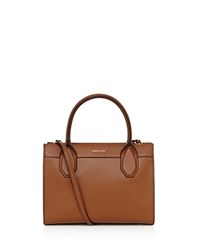 Karen Millen Investment Medium Tote Dark Tan