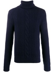 Michael Kors Cable Knit Roll Neck Jumper 60