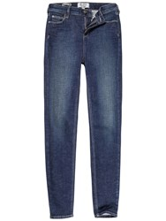 Fat Face Shaping Skinny Jeans Denim