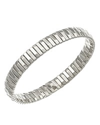 Chimento 18K White Gold Armillas Collection Ridge Line Bracelet