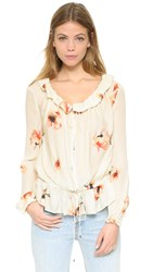 Haute Hippie Ruffle Collar Blouse Hounds Of Love