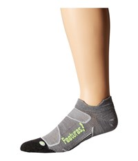 Feetures Elite Merino Ultra Light No Show Tab 3 Pair Pack Gray Reflector No Show Socks Shoes
