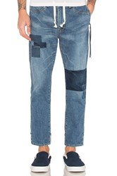 Remi Relief Remake Easy Fit Denim Pant Used Blue