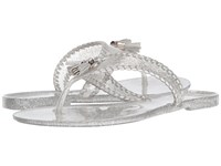 Jack Rogers Sparkle Alana Jelly Silver Women's Sandals