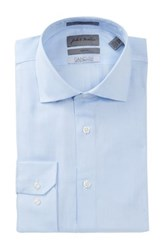 John W. Nordstrom Trim Fit Dress Shirt Blue