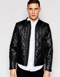 G Star G Star Quilted Jacket Attacc Black Nylon Black