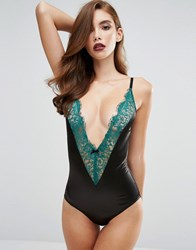 Coco De Mer Fifty Shades Darker By Goddess Body Jade Green And Black