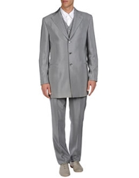 Luigi Bianchi Mantova Suits Light Grey